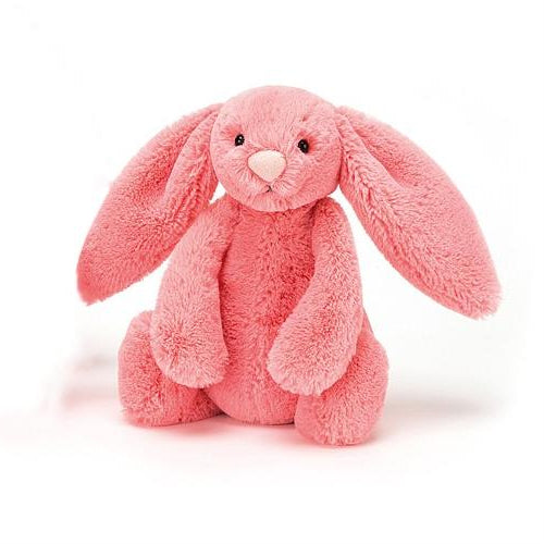 Jellycat Bashful Coral Bunny (Small)