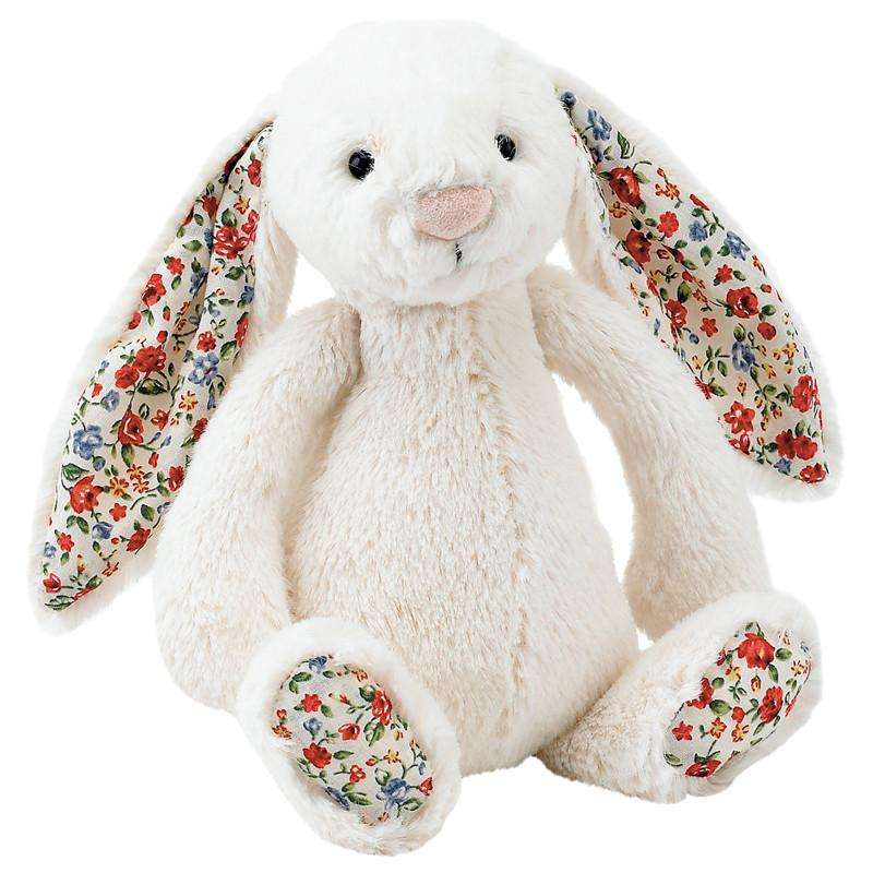Jellycat Blossom Bashful Bunny Cream Small - Send A Toy