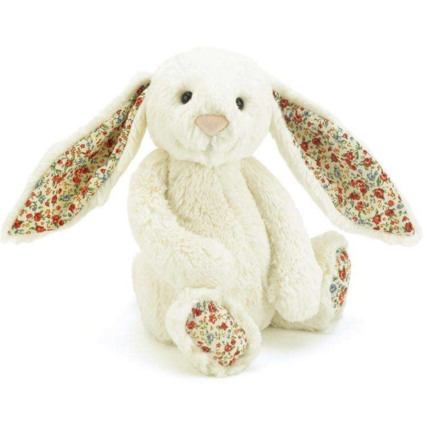 Jellycat Bashful Bunny Blossom Cream (Medium) - Send A Toy