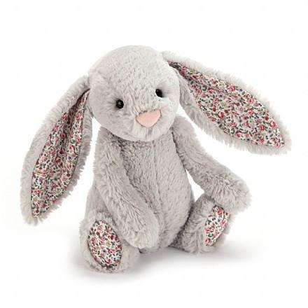 Jellycat Blossom Silver Bunny (Small) - Send A Toy