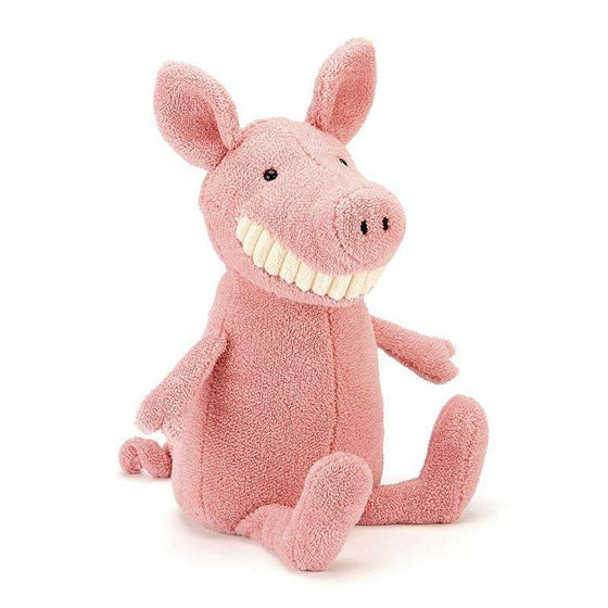 Toothy Pig Plush Toy by Jellycat - Send A Toy