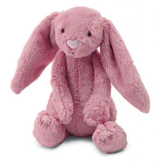Jellycat Bashful Tulip Pink Bunny (Medium) - Send A Toy