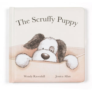 The Scruffy Puppy hardback children's book