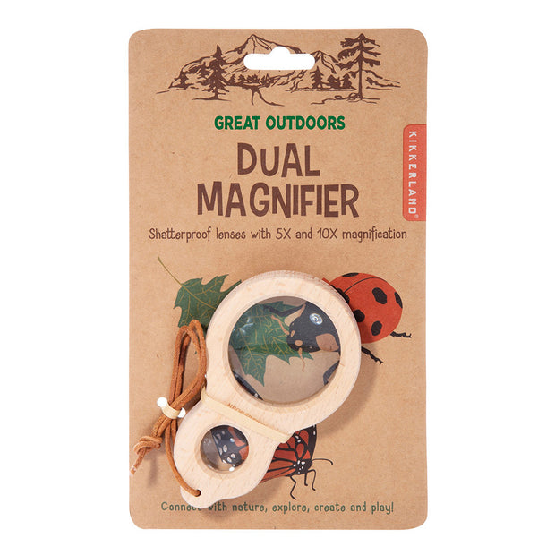Dual Magnifier (Wooden)