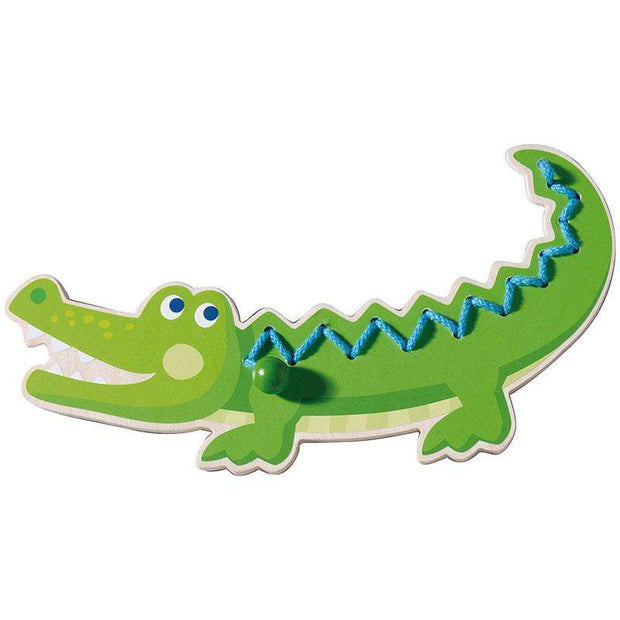 Crocodile Threading Animal Toy (Haba) - Send A Toy