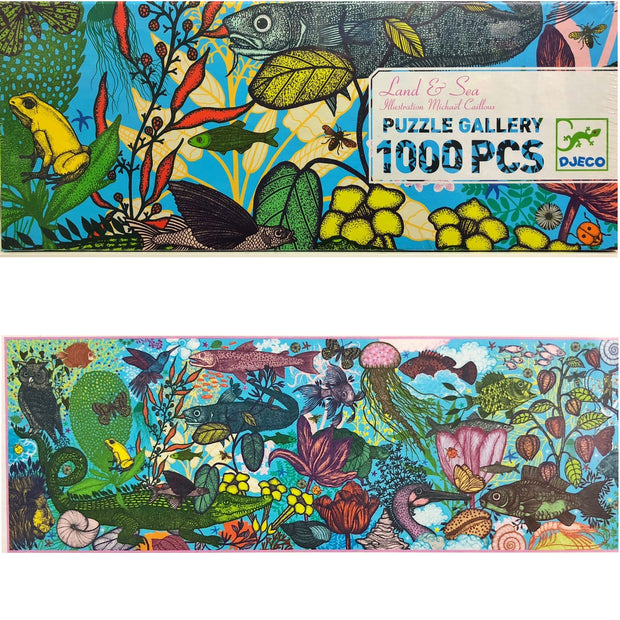 Land and Sea - Gallery Puzzle 1000-pcs