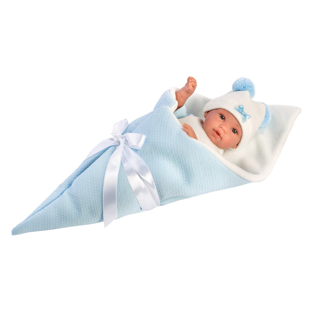 Llorens Ice Blue Baby Doll 36cm - 63631