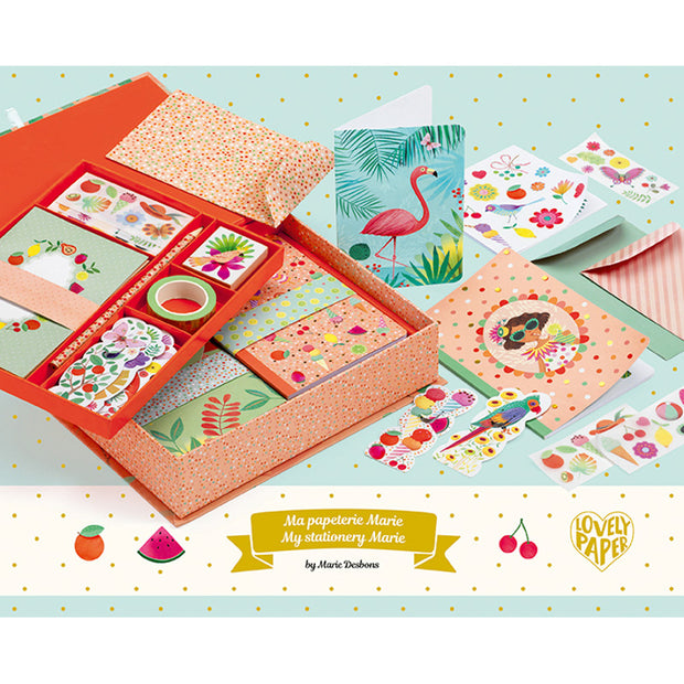 Marie Boxed Stationery Set