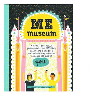 Me Museum Activity Keepsake Book + Pencils - Send A Toy