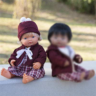 Miniland Cold Weather Dress Set (38 + 40 cm Dolls)