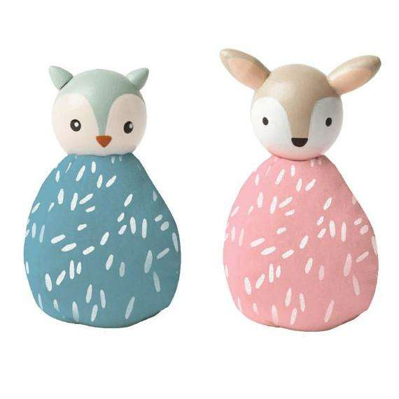 MiO Animal Set - Owl and Deer - Send A Toy
