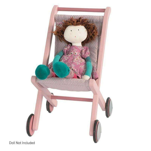 Les Coquettes Rose Pink Pushchair - Send A Toy