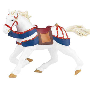 Papo - Galloping Horse Red and Blue 392567 - Send A Toy