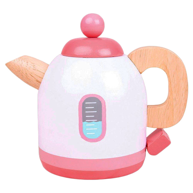 Pink Wooden Kettle
