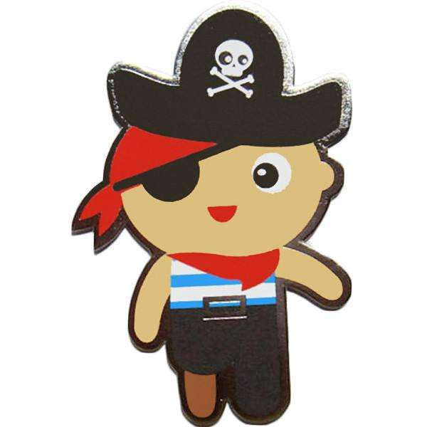 Pirate Gift Card (free-standing die cut) - Send A Toy