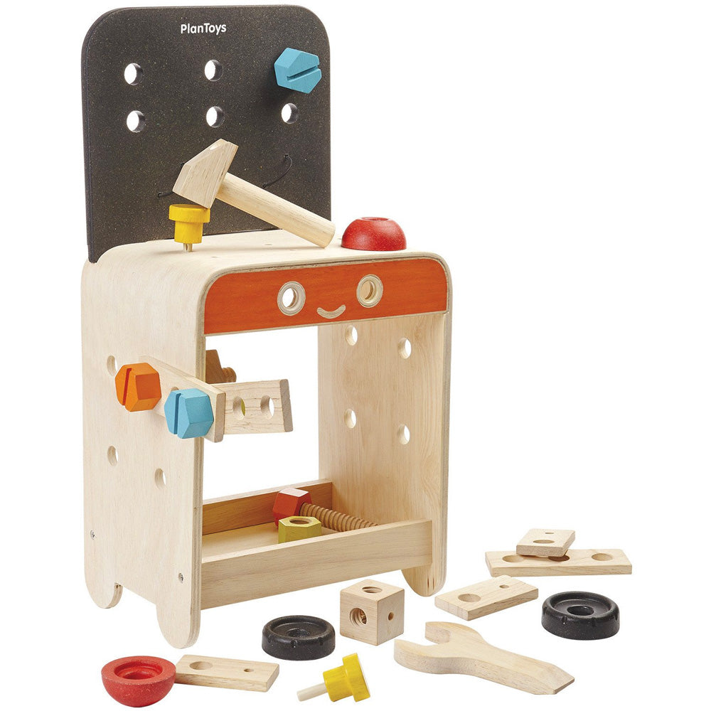 Plan Toys Workbench with tools 5541 - Send A Toy