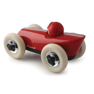 Rear view of Playforever Midi Buck Red toy car -  Send A Toy