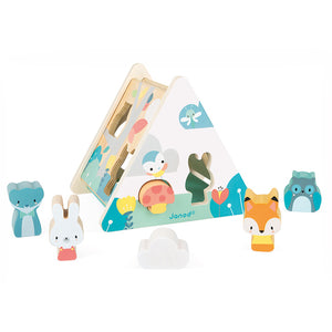 Pure Wooden Shape Sorter - Janod