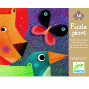 Giant Animal Parade Puzzle (Djeco) - Send A Toy