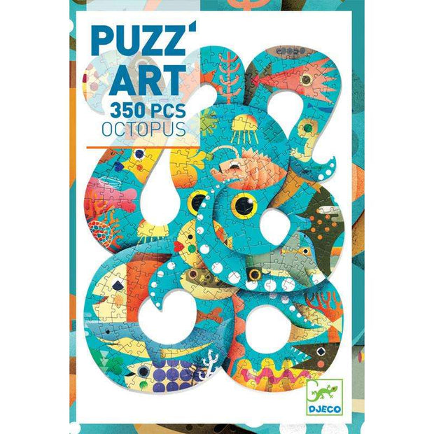 Octopus Puzzle Art - 350 Piece (Djeco) - Send A Toy