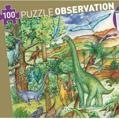 Puzzle Observation - Dinosaurs (Age 5- 7) - Send A Toy