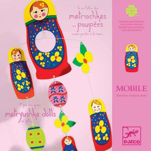 Lucky Charm Matryushka Doll Mobile - Send A Toy