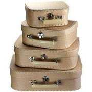 Kraft Brown Suitcases (set of 4) - Send A Toy