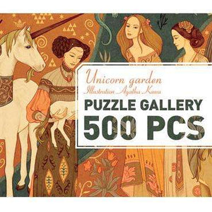 Unicorn Lady Puzzle Gallery (with poster) - Send A Toy