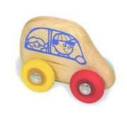 Wooden Totogolo Car - Enfants