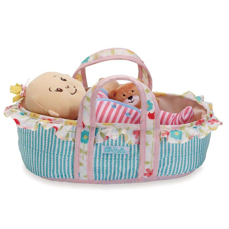 Sleepy Time Bassinet (Wee Baby Stella) - Send A Toy