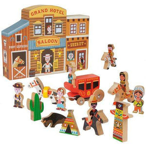 Wild West Story Box Playscape - Send A Toy