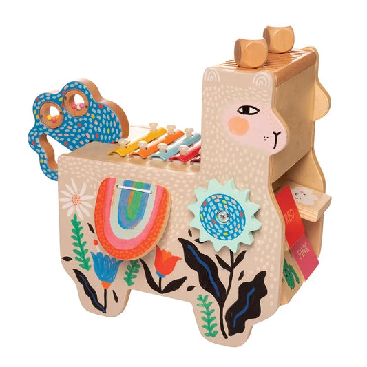Lili Musical Llama - Wooden Music Station