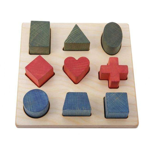 Shape Matching Puzzle (Wooden Story) - Send A Toy