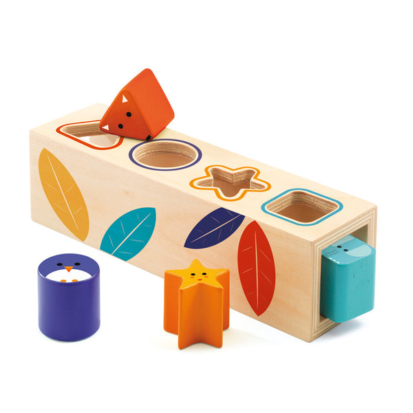 Boitabasic wooden infant Shape Sorter