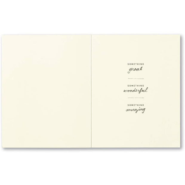 Greeting Card - You're REALLY something