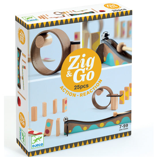 Zig and Go Action Reaction Set - 25 pcs retail box