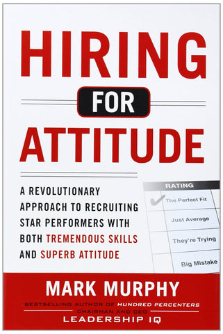 Hiring for Attitude, a book by Mark Murphy - a revolutionary approach to recruiting star performers | Leadership IQ