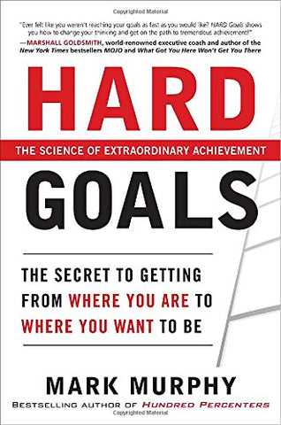 Hard Goals, a book by Mark Murphy - The science of extraordinary achievement | Leadership IQ