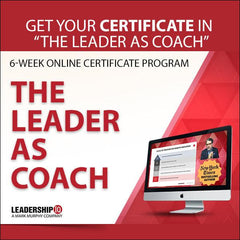 The Leader As Coach 6-Week Online Certificate Program [MAY 24TH]