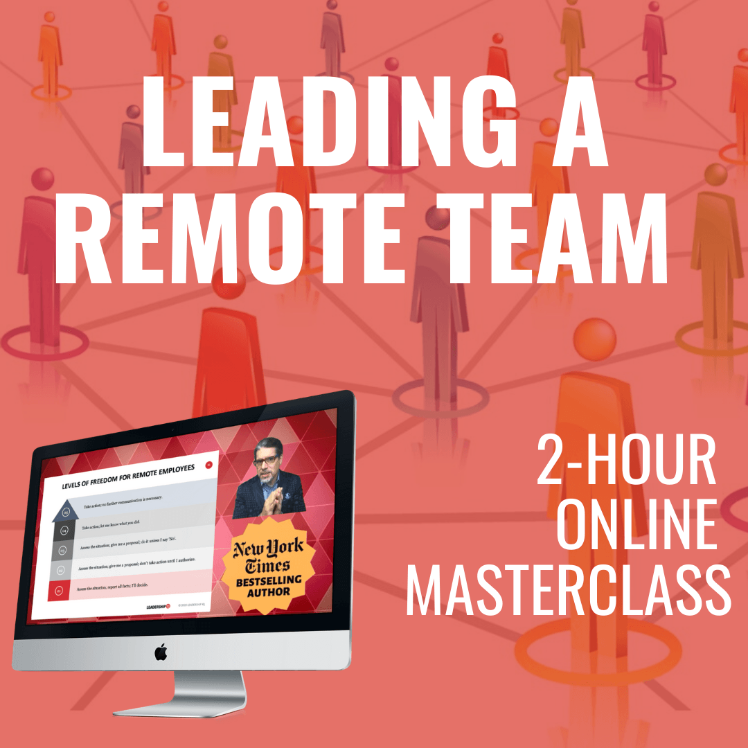 Leading a Remote Team Online Masterclass [JULY 29TH, 1-3 PM Eastern]