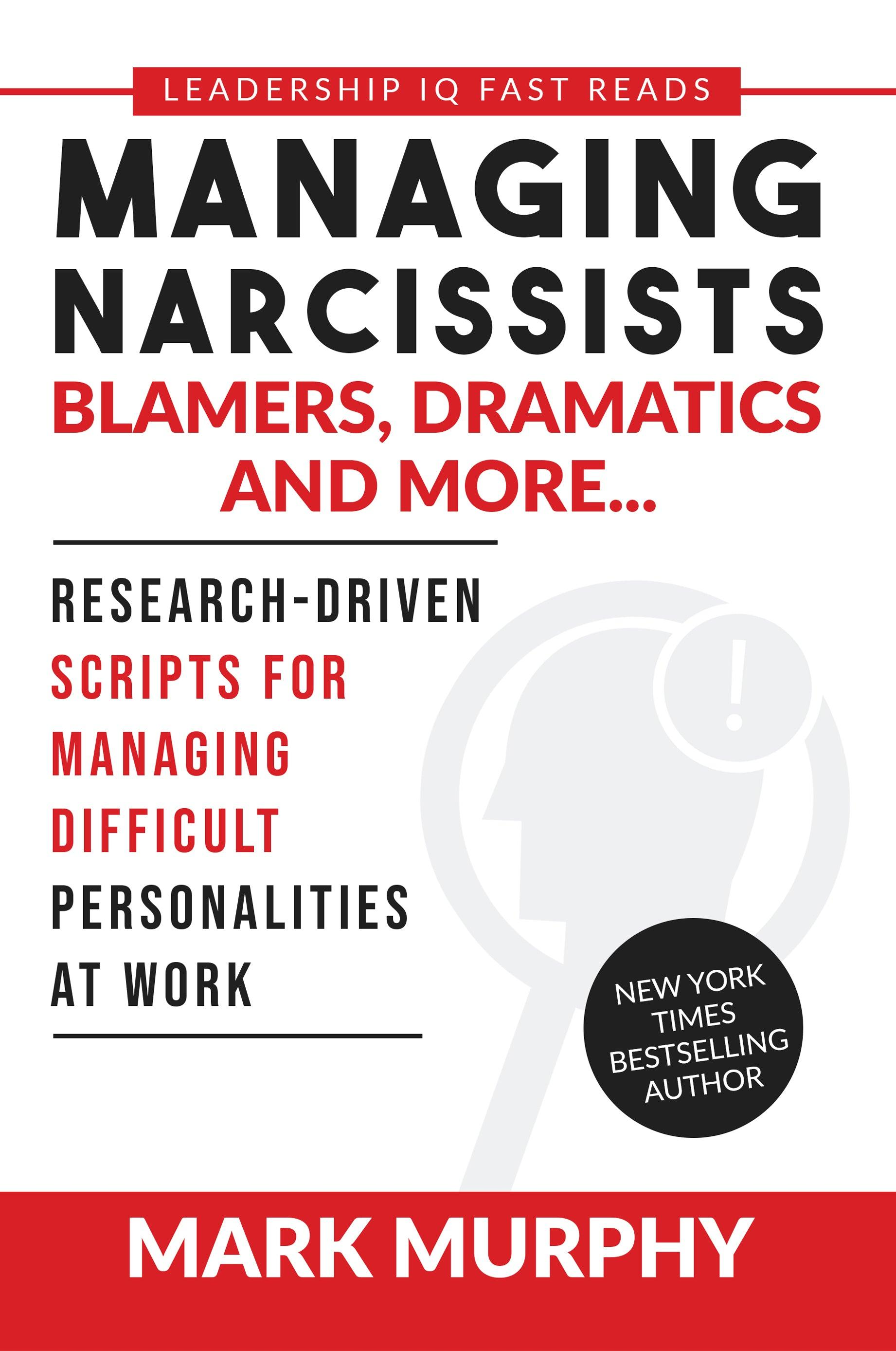 One-Time Book Offer: Managing Narcissists, Blamers, Dramatics and More [PDF DOWNLOAD]