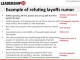 Refuting layoffs rumor | Leadership IQ