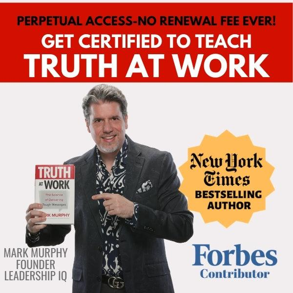 Truth at Work Online Trainer Certification