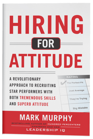 Book: Hiring for Attitude