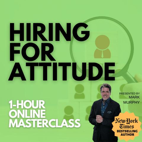 Hiring For Attitude [NOVEMBER 11TH, 1-2 PM EASTERN]