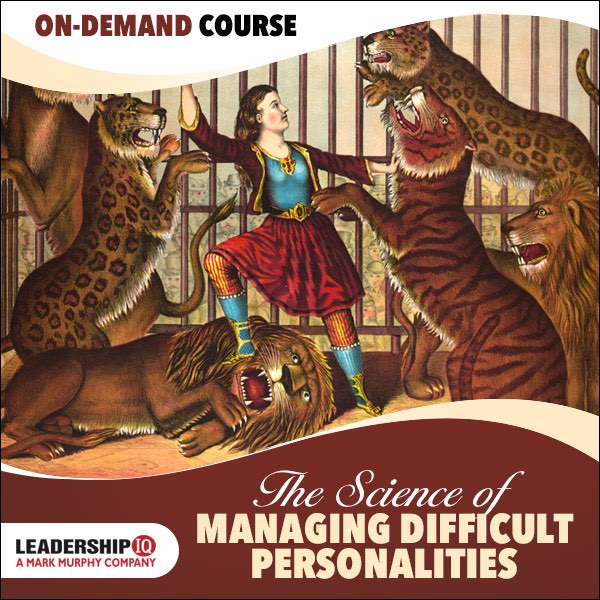 leadership courses online difficult personalities