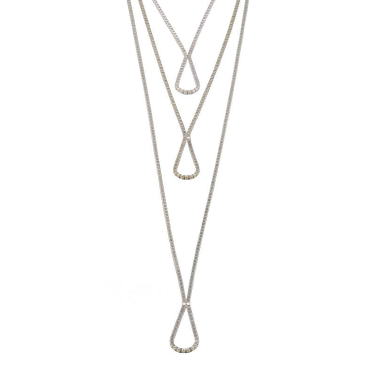 Rivolo Long Drop Necklace