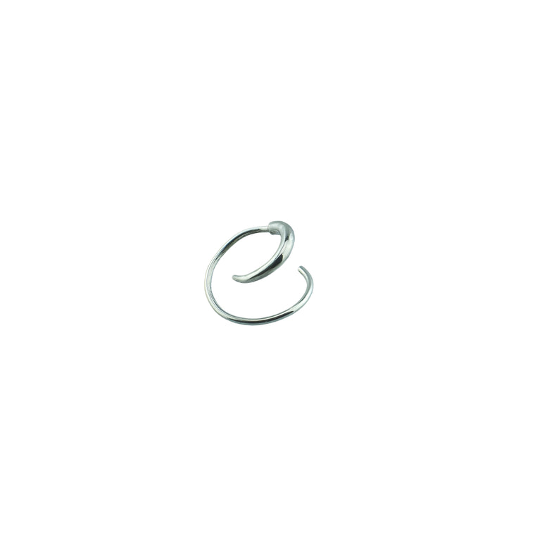 Spiry Spiral Earring Small