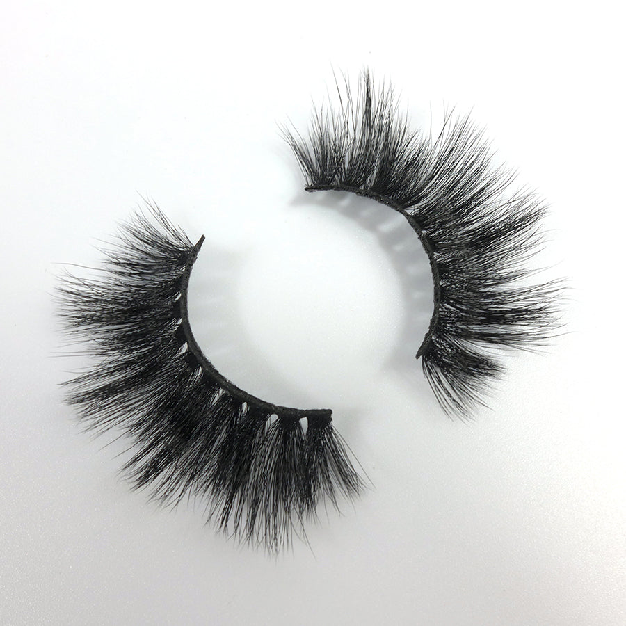 Mink 3D Eyelashes Natural Long Thick Fake Lashes M-013