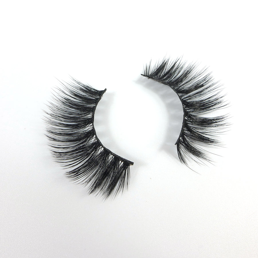 Mink 3D Eyelashes Natural Long Thick Fake Lashes M-018